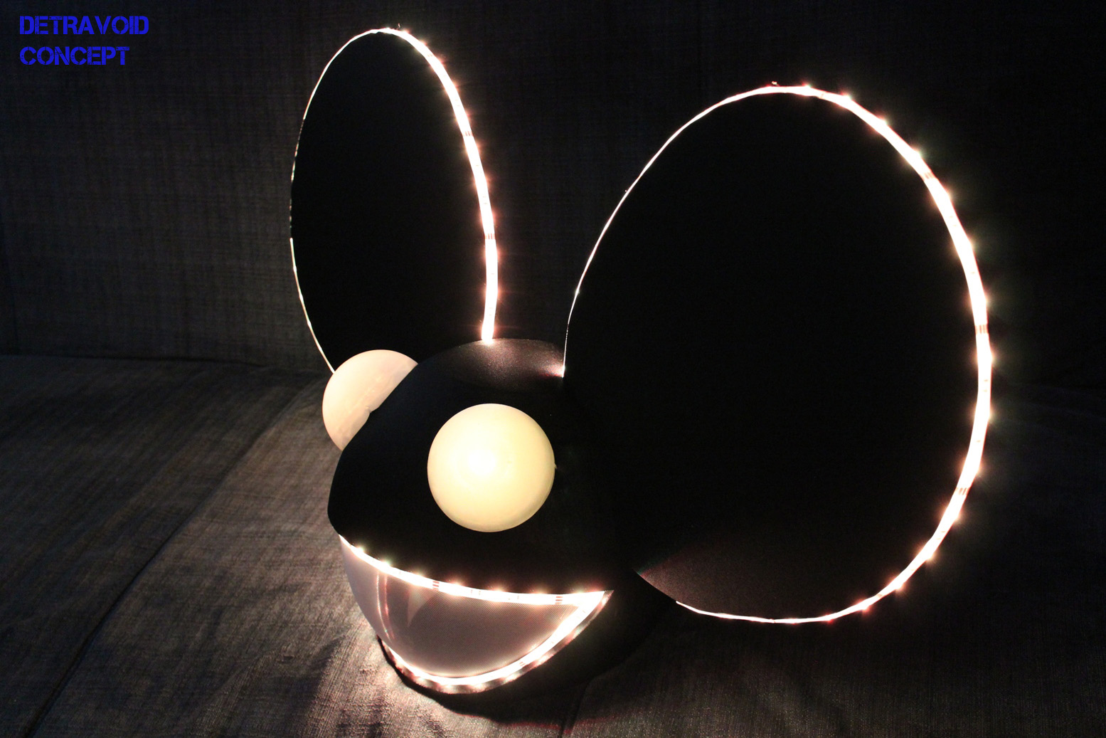 advertisements - Deadmau5 Halloween Head