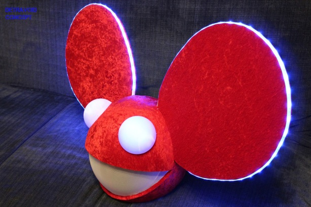 deadmau5 head - Deadmau5 Halloween Head